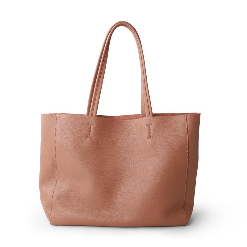 حقيبة نسائية صغيرة حقيبة فاخرة جلد طبيعي حقيبة يد الإناث لينة الطبقة الأولى جلد البقر حقيبة كتف للفتيات زميل