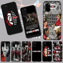 Spanien TV Geld Heist Haus Papier La Casa de papel nairobi Telefon Fall Capa für Samsung S20 plus Ultra S6 s7 rand S8 S9plus S10 5G