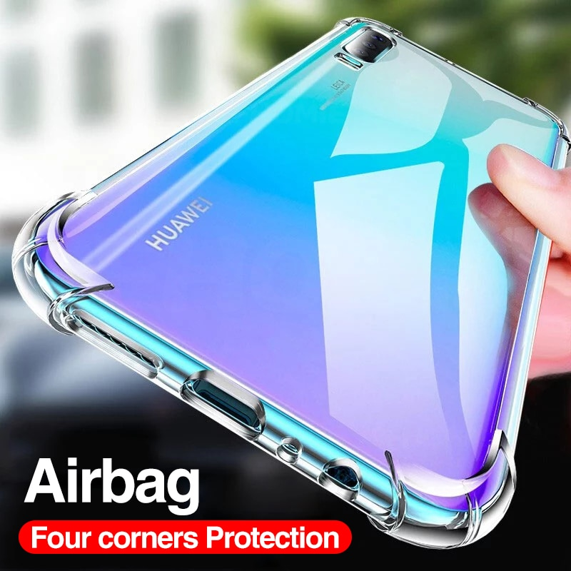 Luxury Shockproof Silicone Case For Huawei P30 P20 Lite Pro P20 P40 Mate 20 30 40 Lite Pro P Smart 2