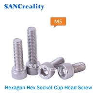 m5 speaker cylinder head cup head hexagon flat tail self tapping screw 304 stainless steel