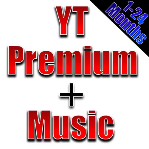 Marke Neue 1 monat YouTube Premium Und YouTube Musik arbeit auf PC Telefon Smart TV