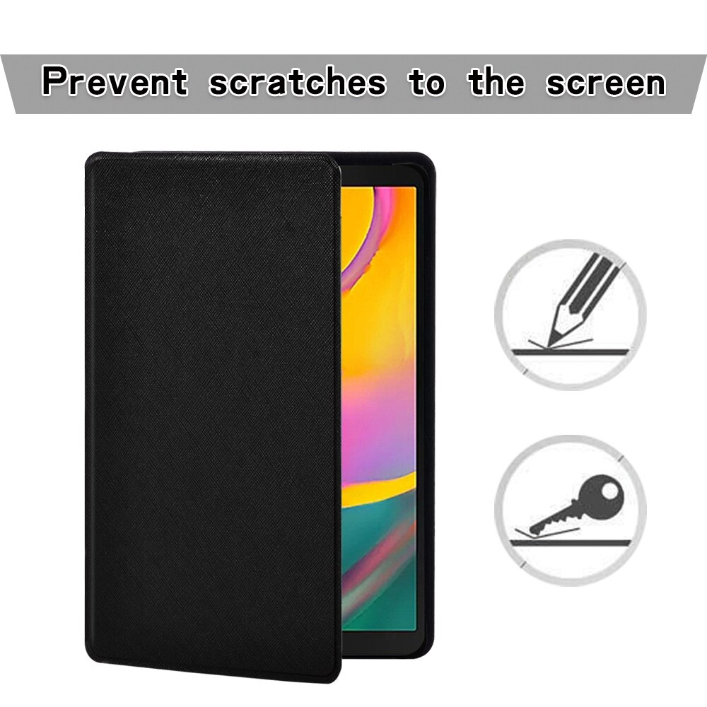 Tablet Case for Samsung Galaxy Tab A 10.1 Inch 2019 T510/T515 Cover + Free Stylus enlarge