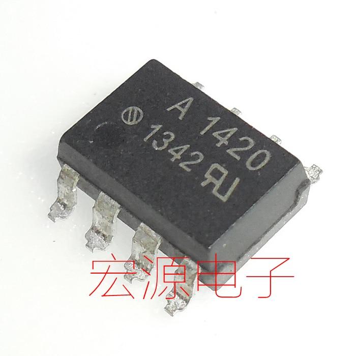 Relé de estado sólido 5 uds ASSR-1420 A1420 SMD SOP optoacoplador