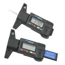 Модель шин линейка для замера глубины светодиодный электронный цифровой дисплей штангенциркуль для шин цифровой тестер глубины протектора измерительная линейка шин