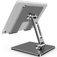 Настольный держатель-подставка для iPhone, iPad, Xiaomi, металлический, регулируемый, мобильный телефон дюймов