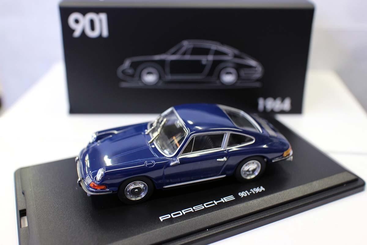 143 1964 porsche 901 velho carro colecao metal fundido simulacao modelo carros brinquedos