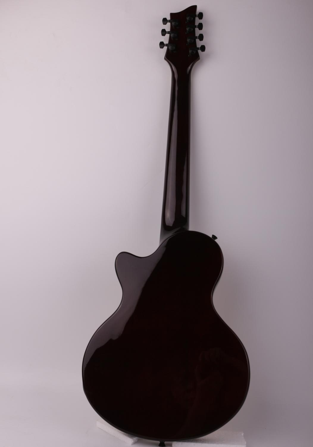 Good quality 7 seven string electric guitar F hole free shipping enlarge
