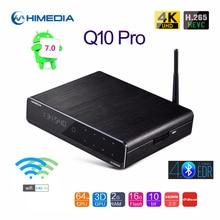 Original Himedia Q10 Pro Smart Android 7.0 TV BOX 2GB 16GB 2.4G 5G WIFI Bluetooth DTS lecteur multimédia prise en charge 3.5