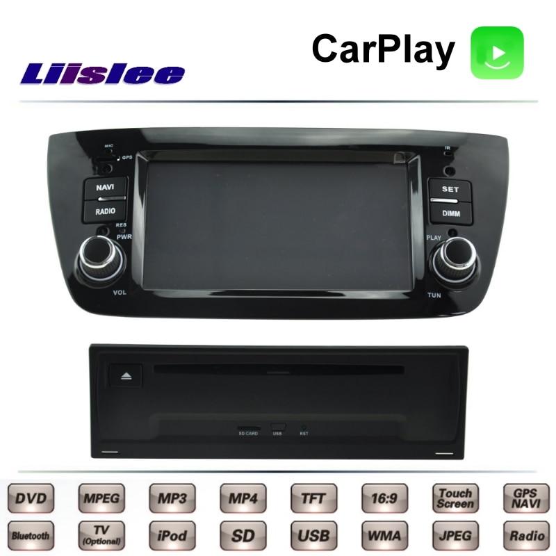 Fiat Doblo Pratico 2009 ~ 2017 voiture multimédia   DVD de télévision GPS, Radio Carplay Style Original, Navigation