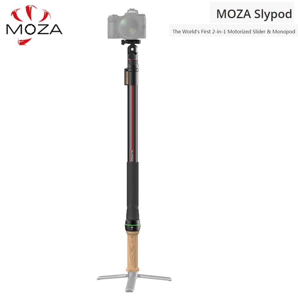 MOZA Slypod 2 en 1 deslizador motorizado y monopié para cámara DSLR estabilizador cardán Aircross 2 Air 2 DJI Ronins SC Zhiyun weepill S