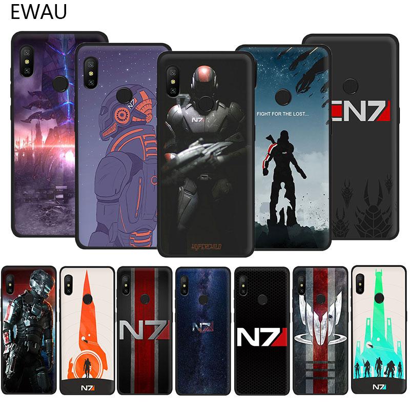 EWAU masa efecto N7 funda de teléfono TPU suave para Xiaomi Redmi 4A 4X4 5X5 5A 6 6A 7 7A Plus ir S2 K20 pro