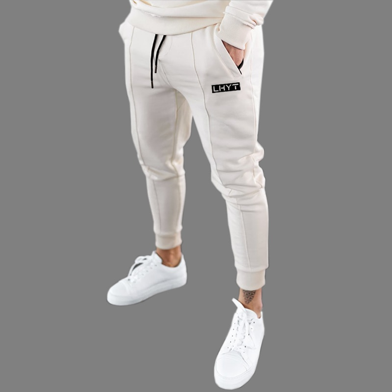 Pants Men Joggers Sweatpants 2020 Streetwear Trousers Fashion Printed Muscle Sports Mens Pants 20CK23