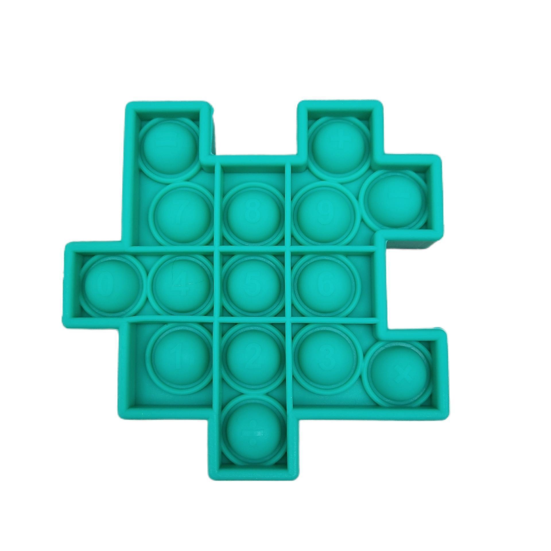 Children Fidget Toys Popit Push Bubble Sensory Toy Autism Special Stress Reliever Antistress Squeeze Toys PopsIt Reliver Stress enlarge