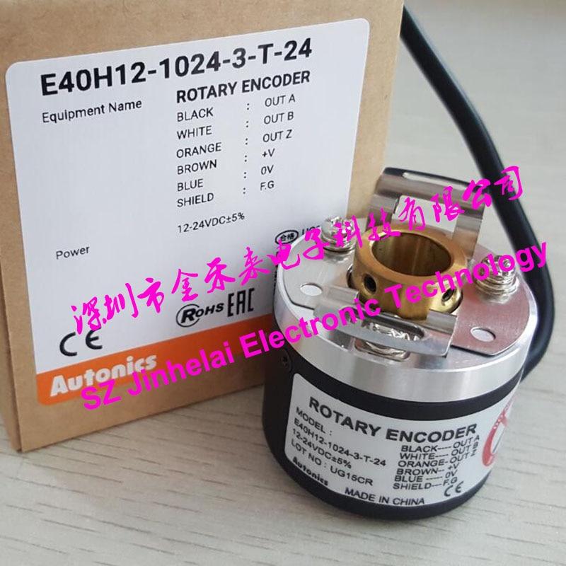E40H12-1024-3-T-24 E40H12-500-3-T-24 جديد و الأصلي AUTONICS التشفير 12-24VDC