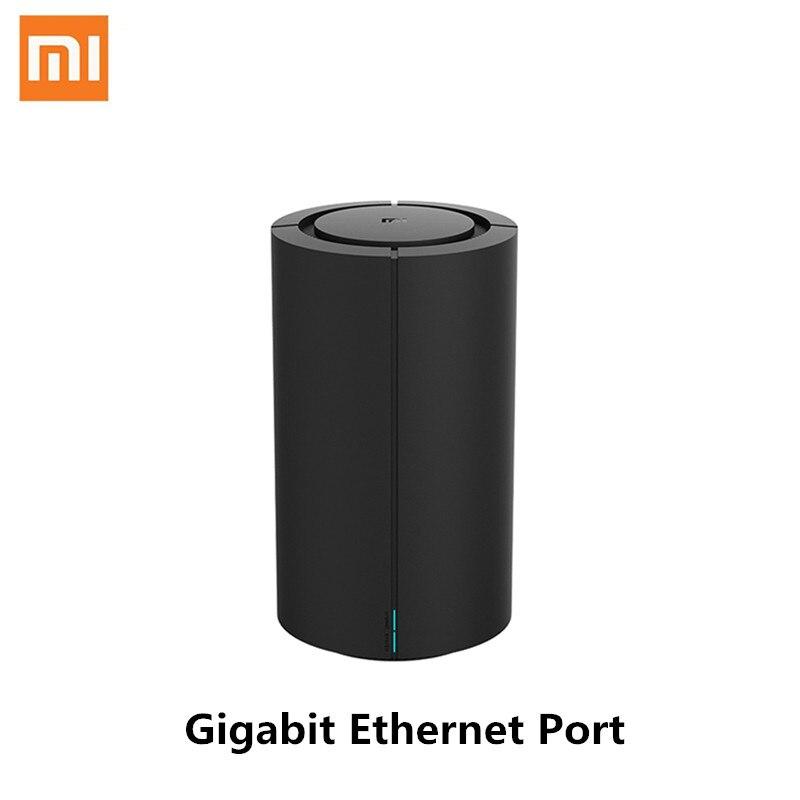 Xiaomi Mi роутер AC2100 гигабитный Ethernet порт Wi-Fi 128 МБ 2,4 ГГц 5 ГГц покрытие 360 ° двухъядерный процессор игра Дистанционное управление приложением дл...