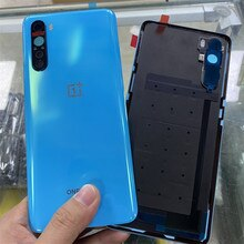 Rear Housing Cover For Oneplus Nord One Plus Back Door Glass Repair Battery Case + Logo Camera Lens