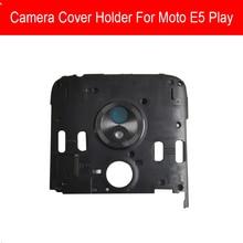 Coque arrière pour Motorola MOTO E5 E PLAY E5PLAY (5th Gen.) MSM8920 support de protection pour antenne de caméra