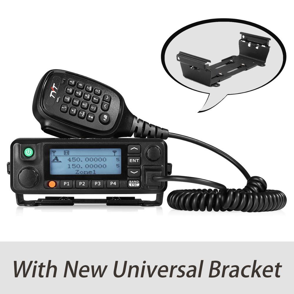 Двухдиапазонный цифровой приемопередатчик TYT для грузовиков и автомобилей, 50 Вт, УКВ, УВЧ, Любительский радиоприемник с кабелем и универсал...