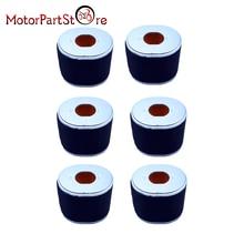 Nova 6 pçs/lote Esponja do Filtro de Ar Mais Limpo para Honda GX340 GX390 11hp 13hp Motor Substitui para Filtros 17210-ZE3-010 17210-ZE3-505