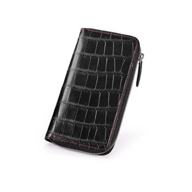 gete new americas  crocodile  handbags  male clutch bag Pure manual   large capacity  men hand bag  long  Men wallet  tide