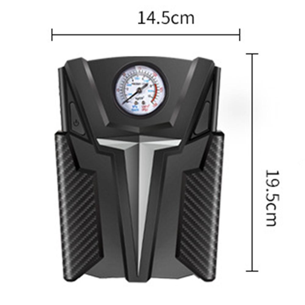 Inflador de neumáticos Digital compresor de aire portátil 12V Full HD 1080P cámara de salpicadero impermeable para bicicletas de coche motocicleta