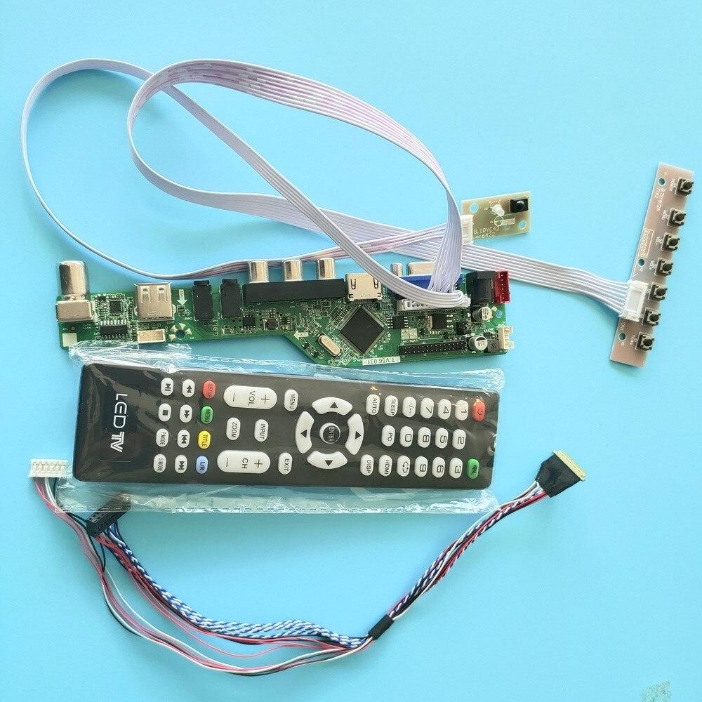 كيت ل N173HGE-L21/N173HGE-L11 40pin LVDS شاشة لوحة HDMI USB TV AV عن بعد VGA تحكم مجلس سائق LCD LED 1920X1080