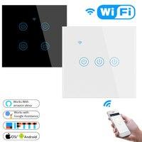 Умный беспроводной пульт дистанционного управления Wi-Fi для XiaoMi, сенсорный переключатель для Alexa Google Home Domotica, модуль контроллера освещения д...