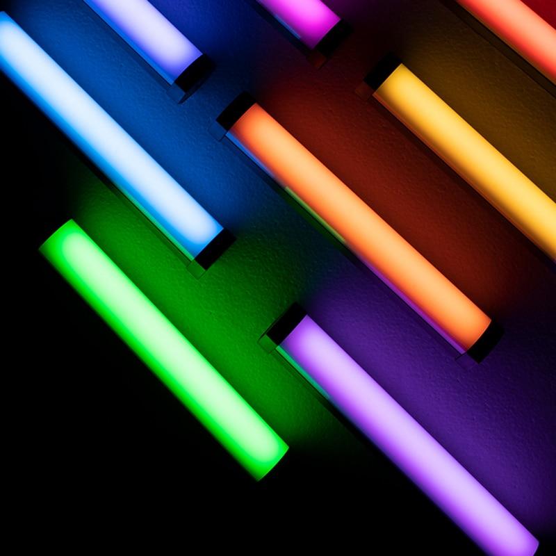 Nanlite PavoTube II 6C de palo de luz RGB luz LED para vídeo tubo portátil luz suave Nanguang iluminación palo