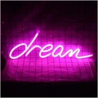 ohaneonk custom neon sign light dream for happy birthday 3d custom led neon sign light name logo customized