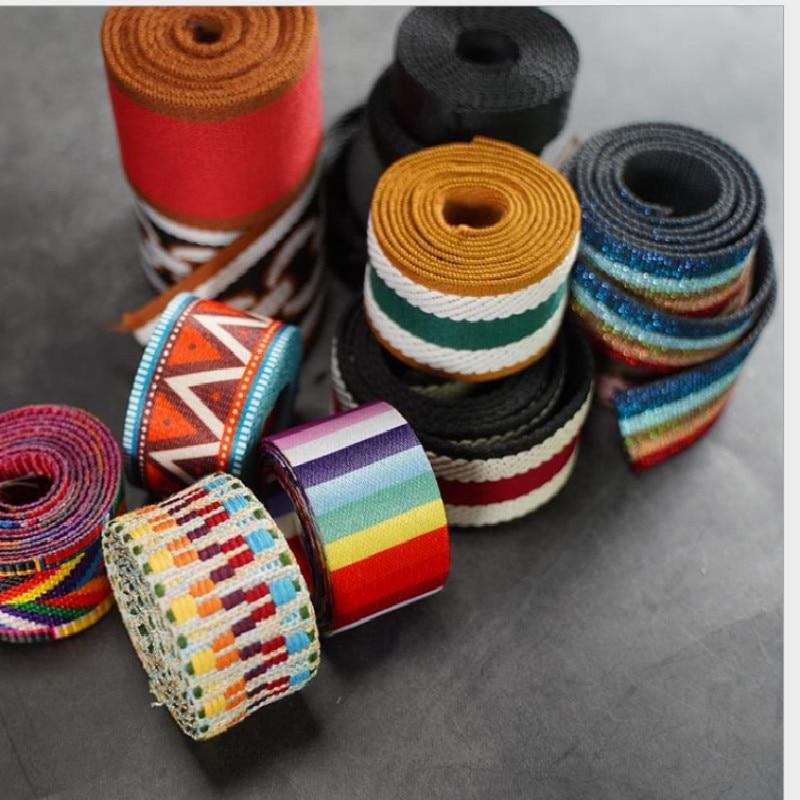 3 Meter New  Women Bag Color Shoulder Strap Accessories Wide 5cm