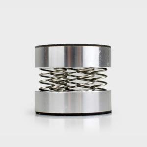 4pcs Acoustic amplifier speaker spring suspension 44*37mm computer feet Foot pad aluminum alloy