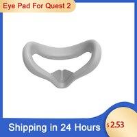 Новинка для Oculus Quest 2 Замена Подушечка Для лица подушки уход за кожей лица крышка кронштейн защитный коврик накладка на глаза для Oculus Quest 2 Очк...