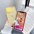 IPhone 11 12 प्रो मैक्स 8 7 6 6 प्लस Xs XsMax X Xs SE 2020 के लिए कैमरा लेंस सुरक्षात्मक मामले 2020 12 रंग कैंडी रंग नरम वापस कवर