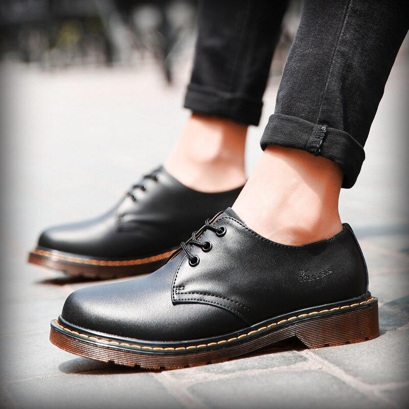 Mens Shoes Men's Oxford Shoes Top Quality Dress Shoes Men Flats Fashion Genuine Leather Casual Shoes Work Shoes Big Size 38-45