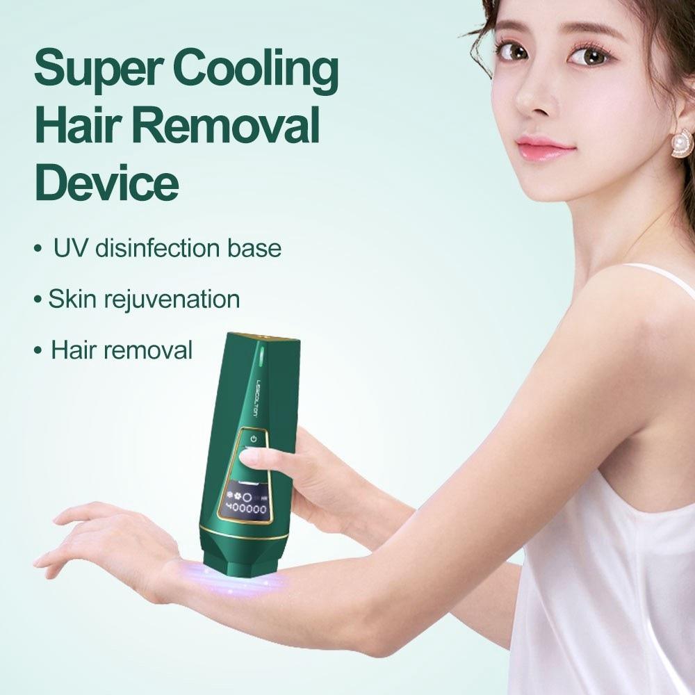 Lescolton IPL Hair Removal Machine Women Permanent Pulsed Light Laser Epilator Facial Body 400000 Flashes Electric Photoepilator enlarge