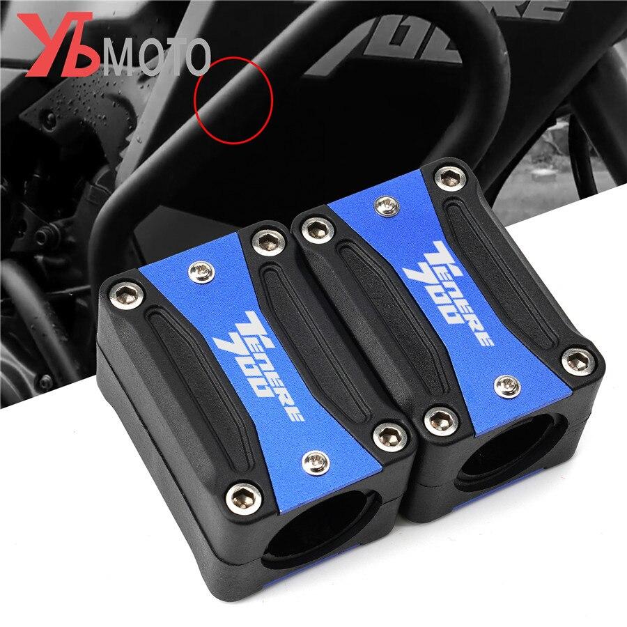 Motorrad Motor Schutz Stoßstange Schutz Dekorative Block Crash Bar Zubehör Für YAMAHA TENERE 700 Tenere700 2019 2020