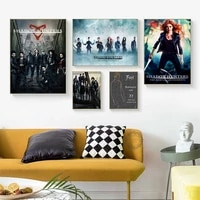 shadowhunters the mortal instruments canvas prints modern painting posters wall art pictures decoration no frame quadro cuadros