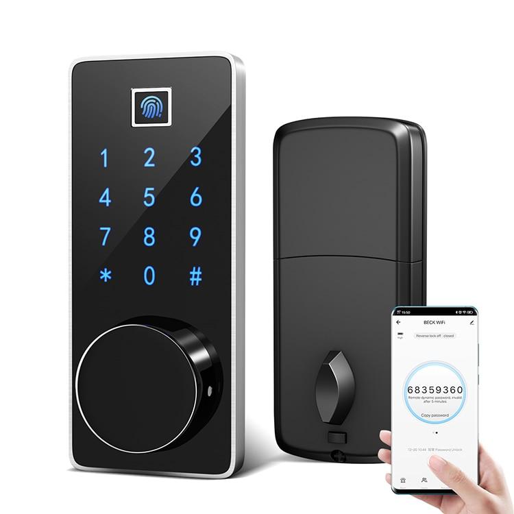 BECK M7WZ tuya app биометрический отпечаток пальца смарт-замок для квартиры