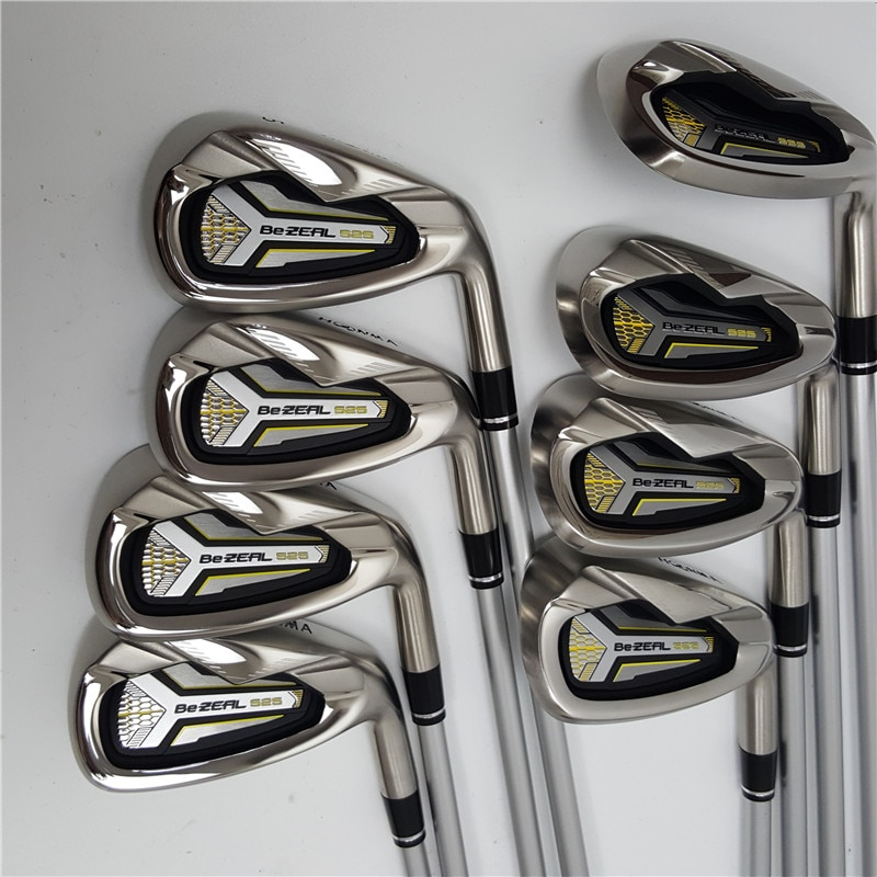 New Men's Golf Club HONMA BEZEAL 525 Golf Iron Set Graphite Golf Clubs Set R or S Flex with Head Cover