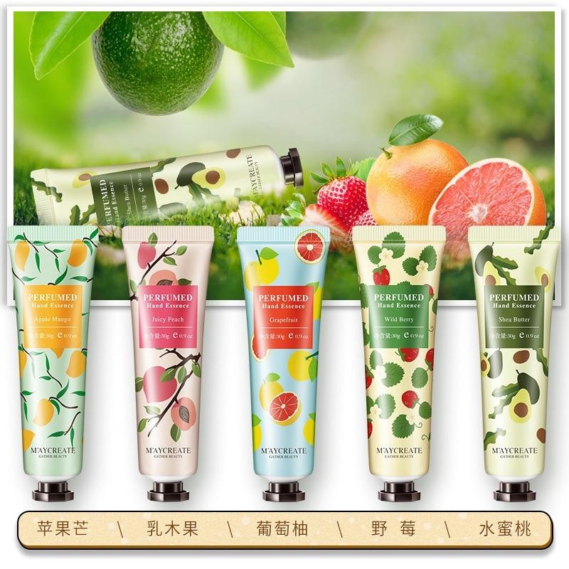 Plant Essence Hand Cream Peach Shea Butter Skin Care Whitening Repair Moisturizing Anti-cracking Lotion Nourishing Hand Cream недорого