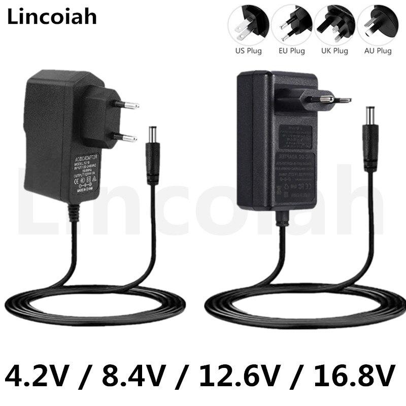 lincoiah ac 100 240v dc 84v 126v 168v 2a 2000ma adaptador fonte de alimentacao carregador
