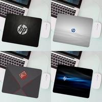 Игровой компьютерный коврик с маленьким логотипом HP, полный коврик для мыши Mi 5 Ga mi ng, аксессуары для аниме, коврик для мыши, клавиатура для ко...