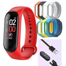 M4 Sport Smart Band Smart Watch Monitor per la pressione sanguigna Smart Wristband Smartwatch Bracelet m4 Wristband per uomo donna dropship