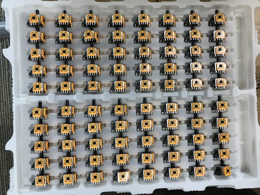 80 unids/lote Original nuevo 3D analógico pulgar palos Sensor módulo potenciómetro para PlayStation 4 Dualshock 4 PS4 Pro controlador Delgado