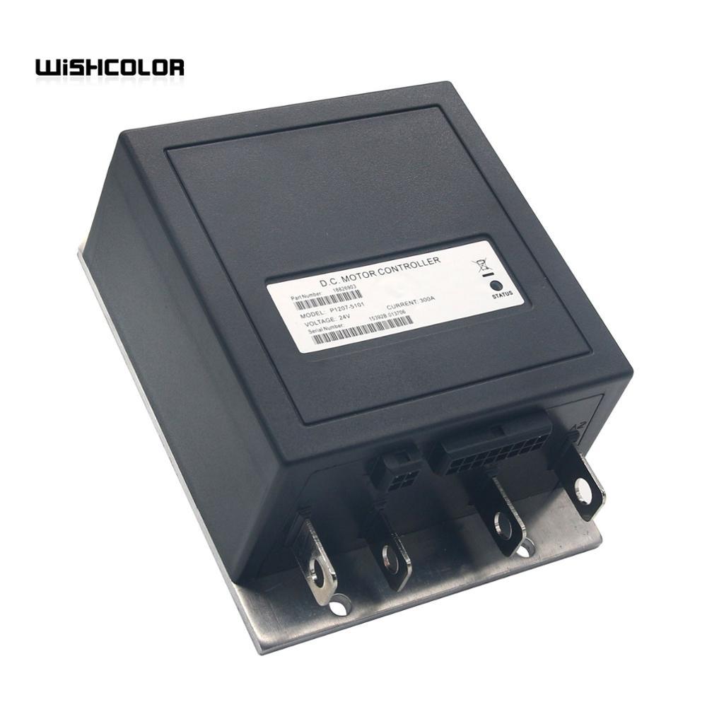 Controlador de Motor Atualizado para 1207 300a Curtis dc 2021 ou 1207a 1207b-5101 24v