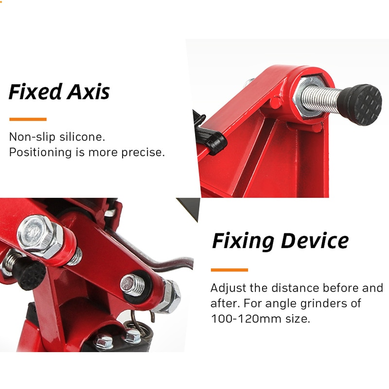 Two Style Universal Grinder Accessories Angle Grinder Holder Woodworking Tool DIY Cut Stand Grinder Support Dremel Power Tools enlarge