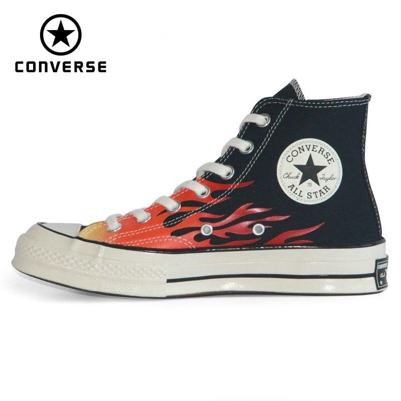 CONVERSE Zapatillas deportivas estrella llama para hombre y mujer de zapatos de...