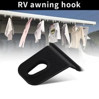 5pcs clothes hook for caravan rv awning hook hanger clip install outdoor camping for caravan motorhome camper accessories