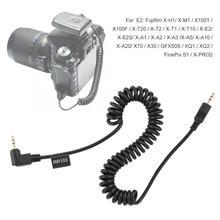 RR100 caméra déclencheur Flash déclencheur ligne de connexion fil de ressort pour pour pour E-M1 II caméra nouveau
