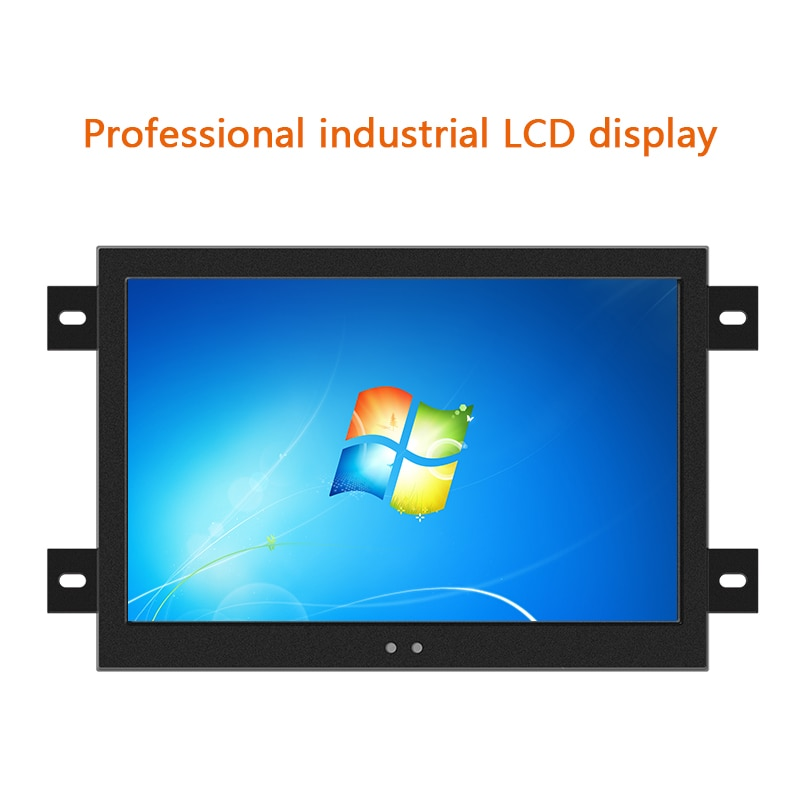 18.5 Inch Monitor HDMI/VGA/DVI LCD Screen Display of Tablet Resistance Touch Screen 1366*768 Touch Screen Industrial Monitor